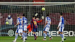 سه امتیاز روحیهبخش بارسلونا از نبرد با سوسیداد