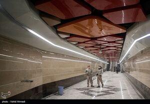 افتتاح ایستگاههای برج میلاد و امیر کبیر متروی تهران