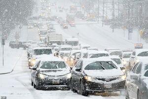کولاک زمستانی در آمریکا