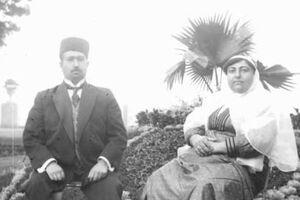 عکس/ شاه مخلوع قاجار در تبعید