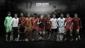 عکس/ تیم منتخب سال ۲۰۲۰ از نگاه فیفا