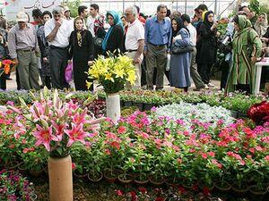 عکس/ ازدحام خطرناک مردم در بازار گل تهران!