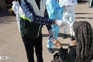 عکس/ طرح شهید سلیمانی در مناطق محروم