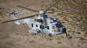 عکس/ تحویل بالگرد جدید نظامی به کویت