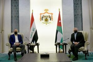 دیدار غیر منتظره نخست وزیر عراق با شاه اردن