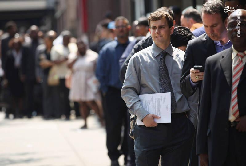 «سونامی بیکاری» اقتصاد آمریکا را چگونه نابود خواهد کرد؟