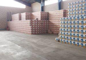 توزیع رایگان ۱۱ هزار لیتر روغن خوراکی احتکاری در ری + فیلم