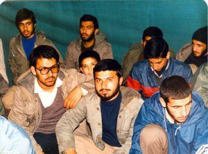 مراسم ختم شهید حسین طاهری به روایت تصاویر