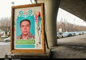 قاب مدافعان سلامت زینتبخش مشهدمقدس +عکس