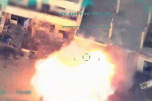سقوط هواپیمای جاسوسی ترکیه و حملات هواپیمای ناشناس در استان حلب سوریه