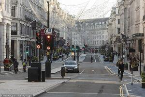 خیابانهای خلوت انگلیس