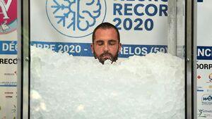 عکس/ رکوردشکنی مرد یخی