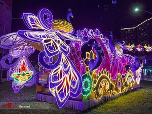 عکس/سال نو در سنگاپور