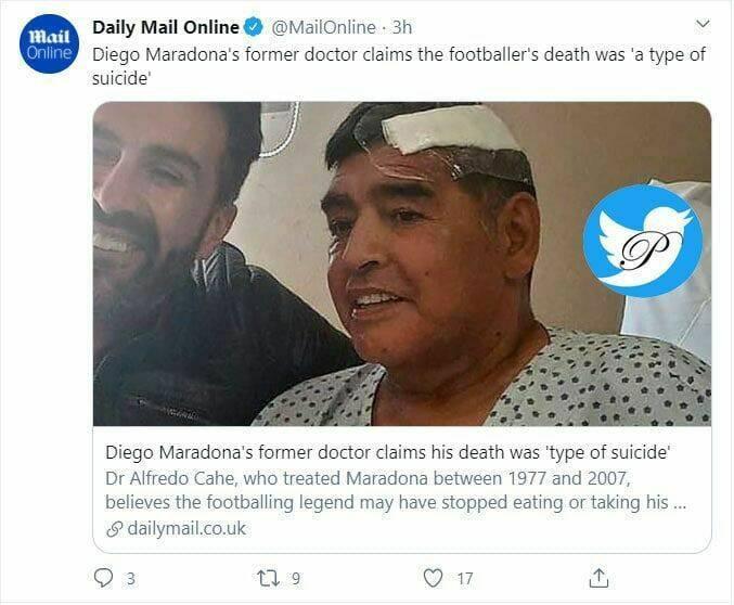 ادعای جنجالی پزشک مارادونا!