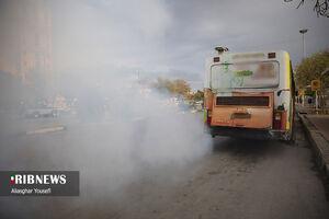 عکس/ تنفس دود در اراک