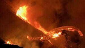 عکس/ فوران آتشفشان در هاوایی