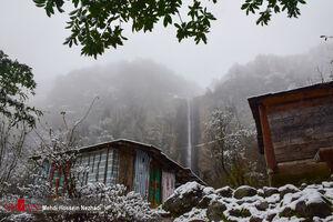 عکس/ آبشار زیبای لاتون در گیلان