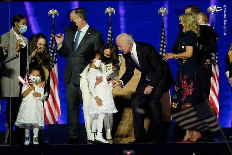 انتخاب جو بایدن به عنوان رئیس جمهور منتخب آمریکا