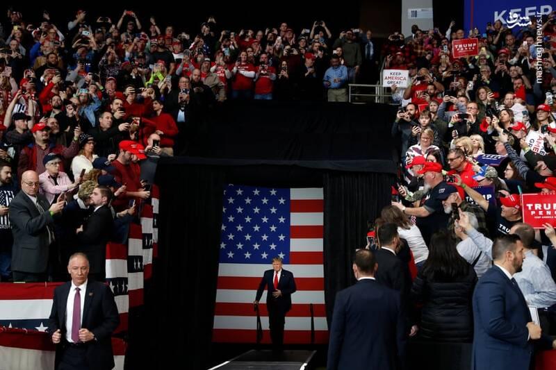 خداحافظی ترامپ از ریاست جمهوری
