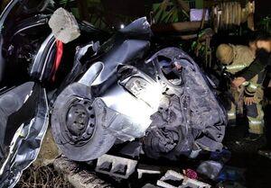 یک کشته و ۳ مصدوم بر اثر تصادف شدید پژو ۲۰۶ +عکس