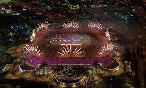 عکس/ افتتاح استادیوم بازیهای جام جهانی ۲۰۲۲