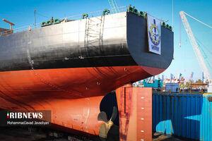 عکس/ به آب اندازی دومین نفتکش افراماکس