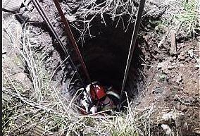 عکس/ سقوط کودک ۹ ساله در چاه