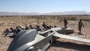 جزئیات عملیات شکار پهپاد تهاجمی نیروی هوایی آلسعود / آیا انصارالله یمن از موشک اسرارآمیز خود رونمایی کرده است؟ +فیلم و تصاویر