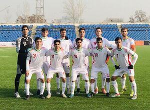 پیروزی پرگل شاگردان عبدی مقابل تاجیکستان