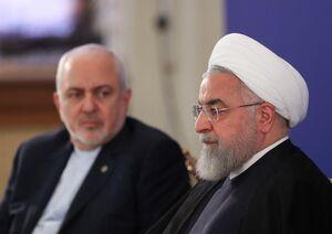 روحانی(تیر ۹۴) : تمام تحریمها در دی ماه ۹۴ بالمره لغو خواهد شد/ روحانی(آذر ۹۹) : نمیگذاریم کسانی پایان تحریم را به تأخیر بیندازند