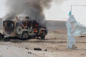 حمله به 2 کاروان لجستیک آمریکا در عراق - کراپشده