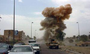 انفجار بمب در مسیر کاروان پشتیبانی ائتلاف بینالمللی در عراق