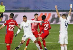 رئال مادرید دهمین پیروزی فصلش را در خانه گرانادا جشن گرفت