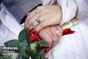عکس/ جشن ازدواج دانشجویی در دانشگاه مالک اشتر