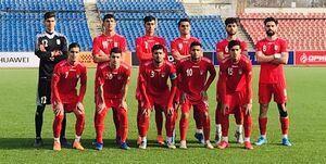 ایران در نخستین بازی دوستانه مغلوب جوانان تاجیکستان شد