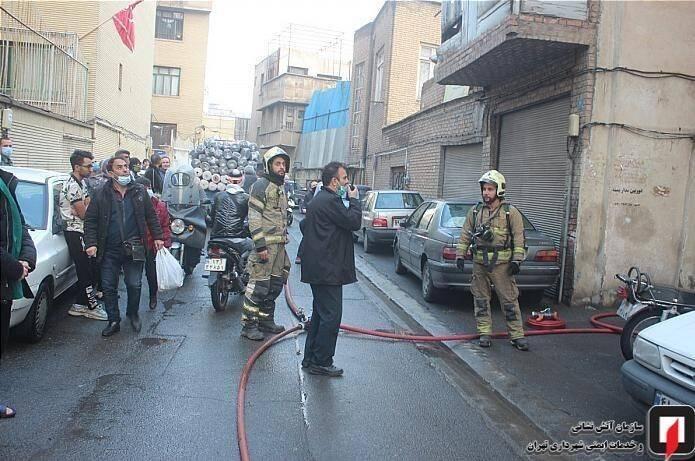 آتشنشانی , آتشسوزی , سازمان آتشنشانی تهران , حوادث ,