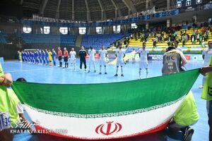 تیم ملی فوتسال همچنان ششم دنیا و اول آسیا