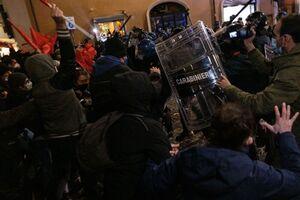 عکس/ اعتراض به مشکلات اقتصادی در ایتالیا