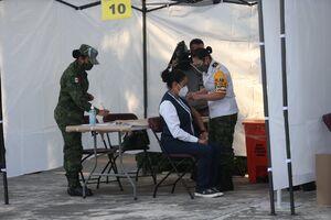 عکس/ تزریق واکسن کرونا در مکزیک