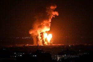 بمباران نمایه انفجار نمایه