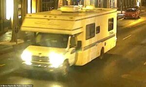 عکس/ خودرو ون منفجر شده در آمریکا