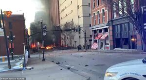 خسارات انفجار نشویل آمریکا