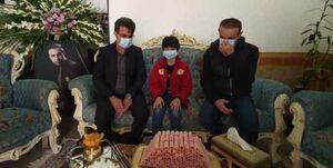 اقدام قابل تقدیر گلمحمدی در دیدار با خانواده هوادار فقید پرسپولیس +عکس