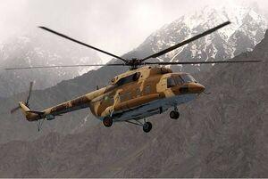 سقوط بالگرد ارتش پاکستان ۴ کشته برجای گذاشت