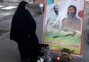 مادر شهیدان «توفیقی خلجان» دعوت حق را لبیک گفت