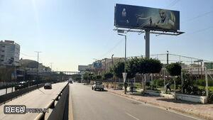 شهر در خواب خرگوشی؛ تصاویر «حاج قاسم» در فراموشی!