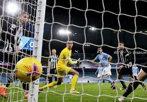 برد منچسترسیتی در آخرین بازی خانگی ۲۰۲۰/ صعود اورتون به رده دوم جدول