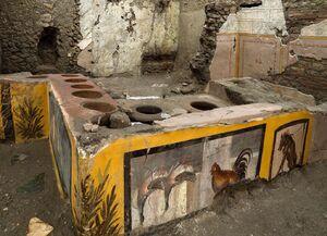 عکس/ کشف اجاق قدیمی در ایتالیا