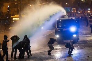 حملات پلیس به معترضان صهیونیست +عکس و فیلم