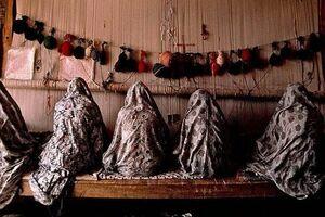 دار قالی قالیبافی نمایه زنان نمایه کار در منزل نمایه